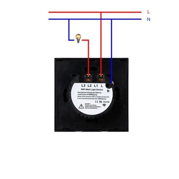 interrupteur connecte et tactile